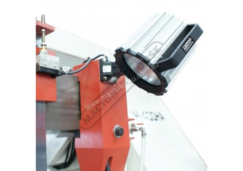H-550HA-NC NC Double Column Metal Cutting Band Saw - Automatic Hitch Feed 550 x 550mm (W x H) Rectan