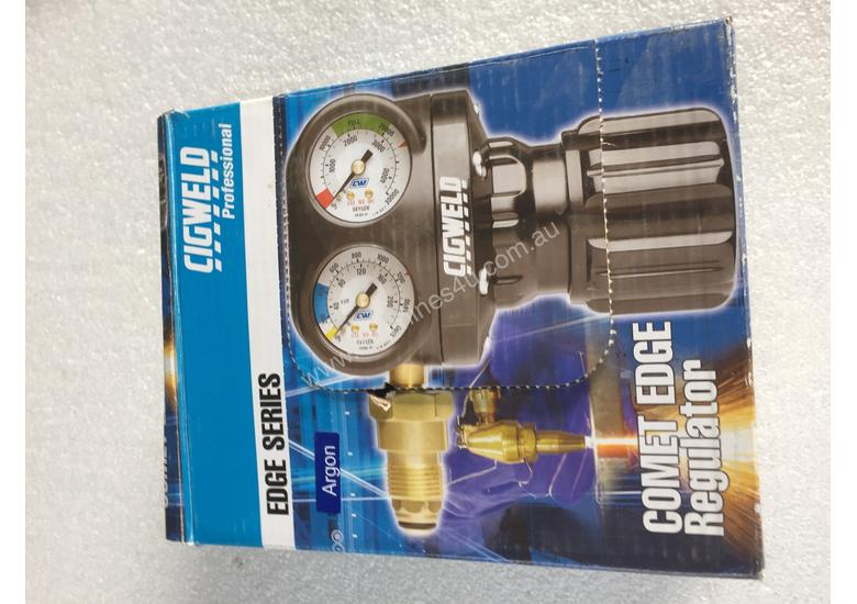 Argon Gas Regulator Cigweld Comet Edge ESS3 Argon TIG Welding 45 LPM 400 kPA