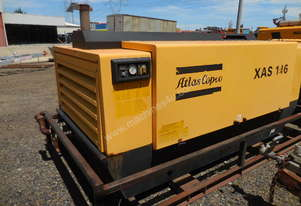 Atlas Copco XAS146, 300cfm Air Compressor