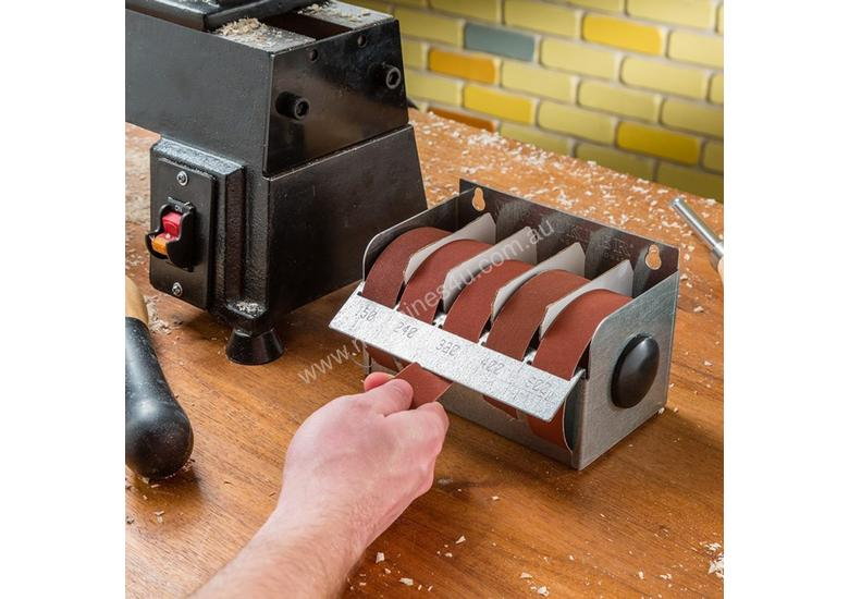Rockler Multi-Roll Sandpaper Dispenser