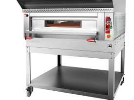 F.E.D PC147 Pyralis Circle Digital Deck Rotating Stone Sole Pizza Oven - picture1' - Click to enlarge