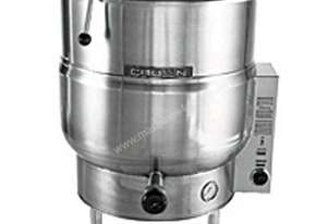Crown EL80 - 303 Litre Electric Steam Kettle - Stationary Tri-Leg