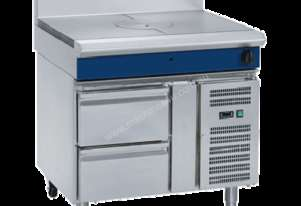Blue Seal Evolution Series G57-RB - 900mm Gas Target Top Refrigerated Base