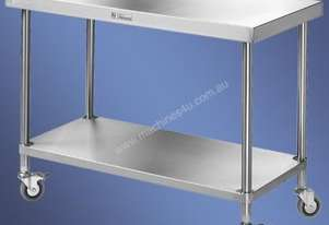 Simply Stainless - Mobile Work Bench 600mm Deep