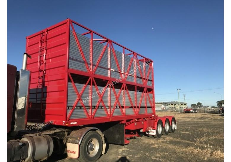 Moore B/D Lead/Mid Stock/Crate Trailer