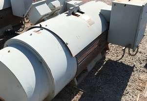 280 kw 375 hp 6 pole 6600 volt AC Electric Motor
