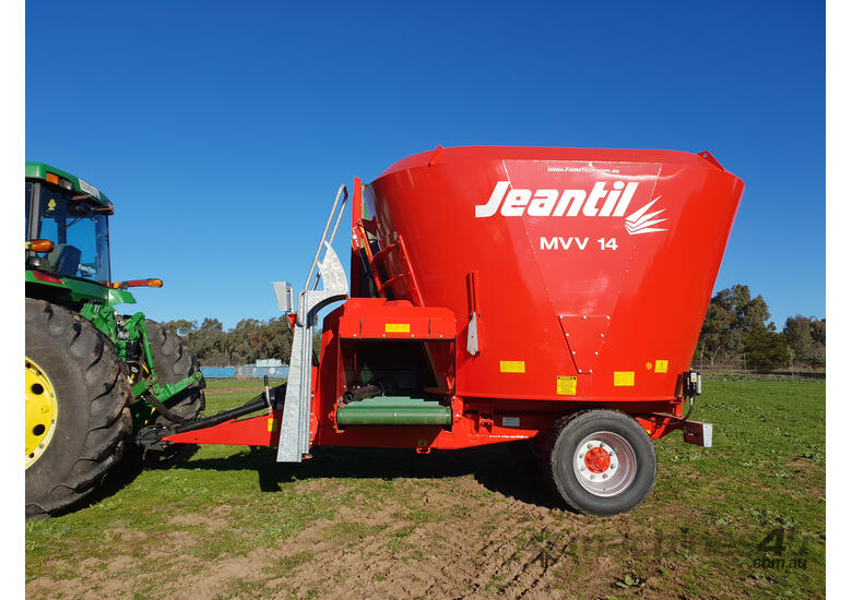 2018 JEANTIL MVV12C VERTICAL FEED MIXER + 3.0M ELEVATOR (12.0M3)