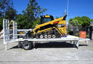 297D High Flow Track loader combo with 9 Ton Tag Trailer MACHEXC
