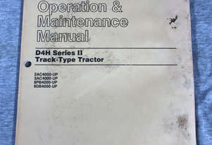 CAT Operation & Maintenance Manual D4H Series II