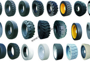 Toyota Nissan Yale Hyster Forklift Solid Tyres Wheels Varying Size