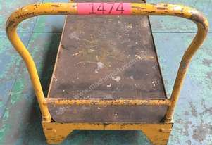 Workshop Trolley Flat Bed Mobile Stock Picking or Packing Cart