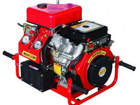 22HP Fire Fighting Diesel Water Pump Electric Start with hoses and fittings - picture5' - Click to enlarge