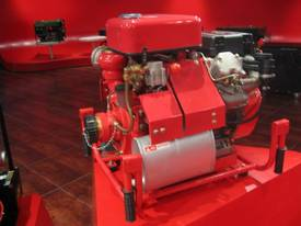 22HP Fire Fighting Diesel Water Pump Electric Start with hoses and fittings - picture3' - Click to enlarge
