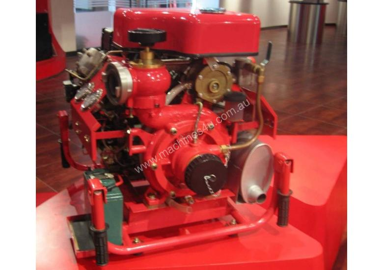 22HP Fire Fighting Diesel Water Pump Electric Start with hoses and fittings