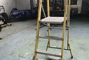 Branach Platform Ladder FPW 1.2 Meter Fiberglass Industrial Stock Picking