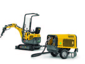 803 Dual Power tracked excavator  - picture2' - Click to enlarge