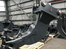 Roo Attachments Ripper to suit 30-35 ton Excavator - picture4' - Click to enlarge