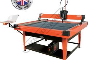 SWIFTY 1250 XP Compact CNC Plasma Cutting Table Water Tray System, Hypertherm Powermax 45XP Cuts up