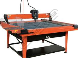 SWIFTY 1250 XP Compact CNC Plasma Cutting Table Water Tray System, Hypertherm Powermax 45XP Cuts up  - picture4' - Click to enlarge
