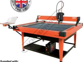 SWIFTY 1250 XP Compact CNC Plasma Cutting Table Water Tray System, Hypertherm Powermax 45XP Cuts up  - picture0' - Click to enlarge