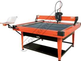 SWIFTY 1250 XP Compact CNC Plasma Cutting Table Water Tray System, Hypertherm Powermax 45XP Cuts up  - picture2' - Click to enlarge