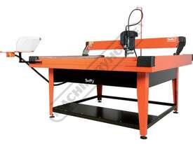 SWIFTY 1250 XP Compact CNC Plasma Cutting Table Water Tray System, Hypertherm Powermax 45XP Cuts up  - picture7' - Click to enlarge