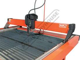 SWIFTY 1250 XP Compact CNC Plasma Cutting Table Water Tray System, Hypertherm Powermax 45XP Cuts up  - picture8' - Click to enlarge