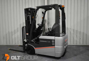 Nissan A1N1L18Q 1.8 Tonne Electric Forklift Low Hours Charger Included