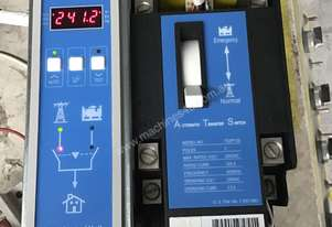 240 Volt ATS, Automatic Transfer Switch 2 POLE,125 AMP, Manual Overide, very compact, 2 wires to gen