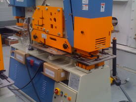 Metalex Punch & Shear model HIW 100 ton - picture1' - Click to enlarge
