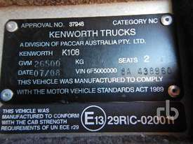 KENWORTH K108 Prime Mover (T/A) - picture5' - Click to enlarge