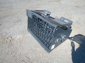 Unused Concrete Mixer to suit Skidsteer Loader - 10419-24 - picture1' - Click to enlarge