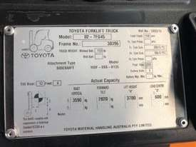TOYOTA 02-7FG45 3700MM V 5553 HOURS  - picture2' - Click to enlarge