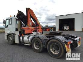 2004 Hino FS1K 6x4 Prime Mover w/Crane - picture1' - Click to enlarge