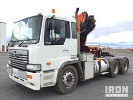2004 Hino FS1K 6x4 Prime Mover w/Crane - picture2' - Click to enlarge