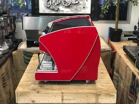 WEGA POLARIS TRON 2 GROUP RED ESPRESSO COFFEE MACHINE NEW - picture3' - Click to enlarge
