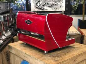 WEGA POLARIS TRON 2 GROUP RED ESPRESSO COFFEE MACHINE NEW - picture6' - Click to enlarge