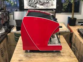 WEGA POLARIS TRON 2 GROUP RED ESPRESSO COFFEE MACHINE NEW - picture7' - Click to enlarge