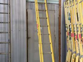 Branach FiberglassExtension Ladder 3.9 - 6.4 Meter Industrial Quality - picture1' - Click to enlarge