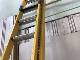Branach FiberglassExtension Ladder 3.9 - 6.4 Meter Industrial Quality - picture6' - Click to enlarge