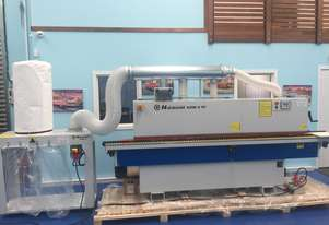NikMann KZM6TM4-v34 edgebander with NikMann SAM6 dust extractor and KZM7 corner rounder