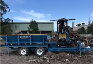 Whitlands Engineering Rex 600 X Firewood Processor