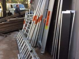 Double Width Aluminium Mobile Scaffold - picture0' - Click to enlarge