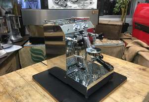 ISOMAC TEA DUE 1 GROUP STAINLESS STEEL BRAND NEW ESPRESSO COFFEE MACHINE