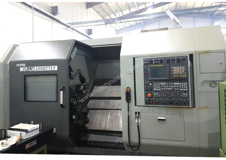 2012 Hyundai Wia LM2000TTSY CNC Turn Mill