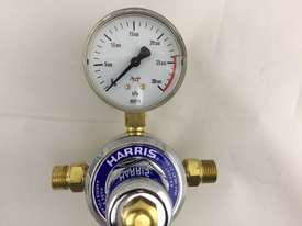 Harris Argon Regulator & Twin Flow Meters Vertical Gas Inlet Bottom Entry 30 LPM 821DB2 - picture2' - Click to enlarge
