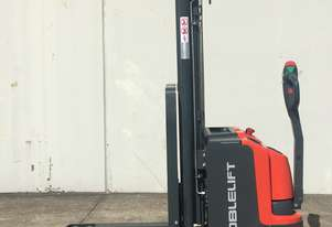 Pedestrian Pallet Stacker with Lithium Battery