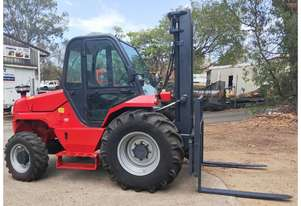 3T Manitou 4WD (3.7m Lift) All Terrain, Side-shift Diesel M30-4 Forklift