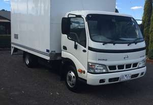 3 ton truck with Prestige box body and loading ramp