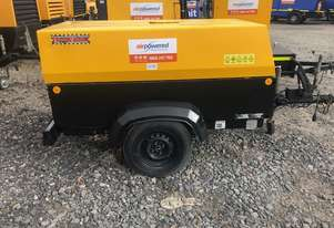 2004 Atlas Copco XAS97 - 180cfm Towable Diesel Air Compressor